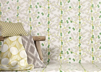 Ilsa Wallcovering Emerald