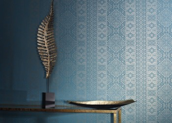 Xilia Wallcovering Dresden Blue