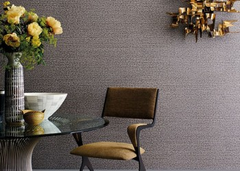 Himara Wallcovering Anthracite