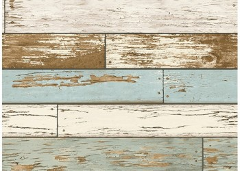 2701-22302 Scrap Wood Sky Blue Weathered Texture