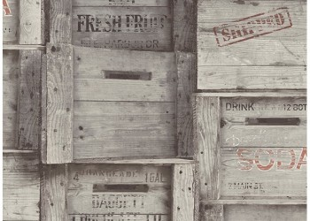 2701-22349 Wood Crates Grey Distressed Wood
